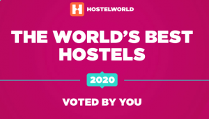Hostelworld Award